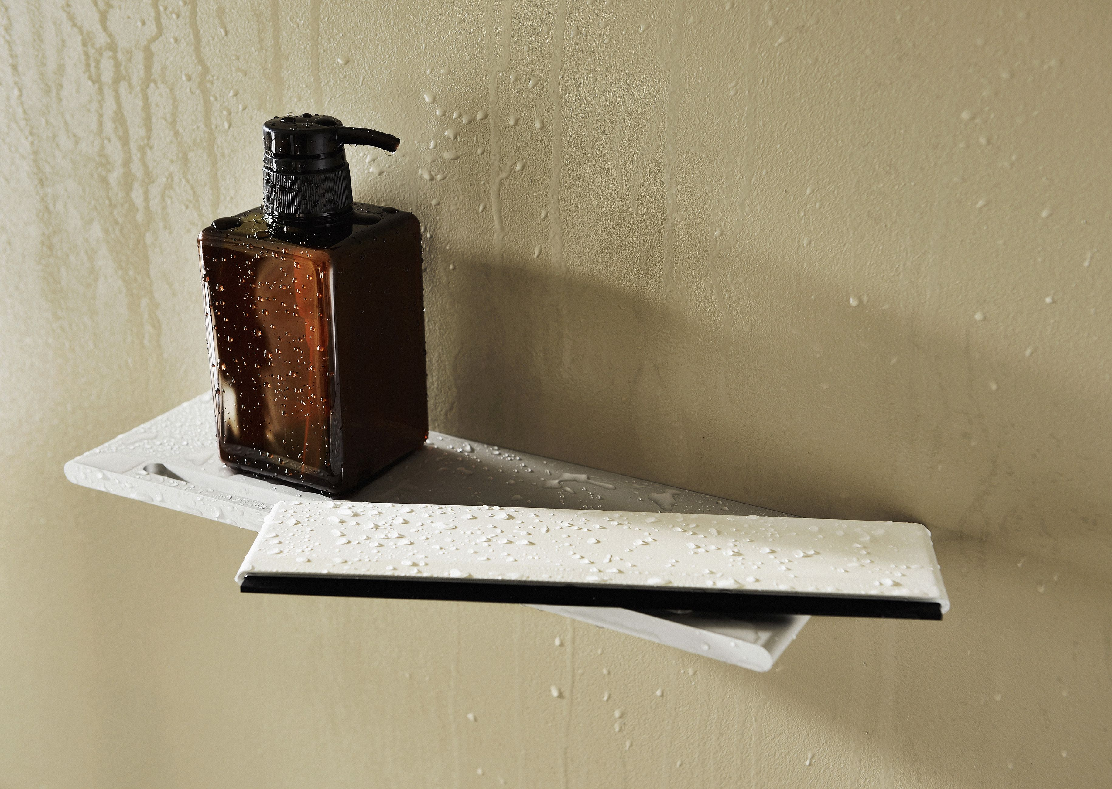 een handig accessoire van keuco voor de in badkamer een douche