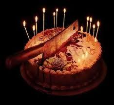 Awesome Happy Birthday Scary Visions Scary Cakes Halloween Birthday Funny Birthday Cards Online Inifofree Goldxyz
