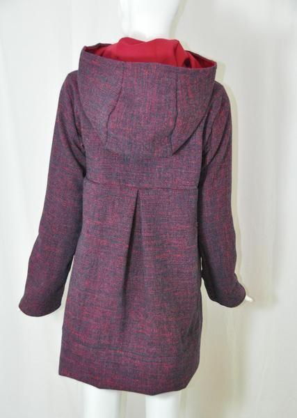 Wunderschöner Mantel Natsuma zum Nachnähen. Der Schnitt eignet sich ...