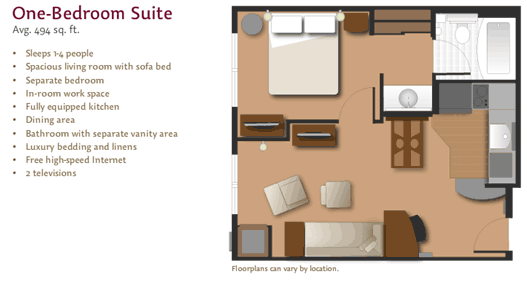 Large Fully Equipped Suites At Residence Inn By Marriott Kingston Ontario Floor Plans Separating Rooms Sofa Bed Living Room