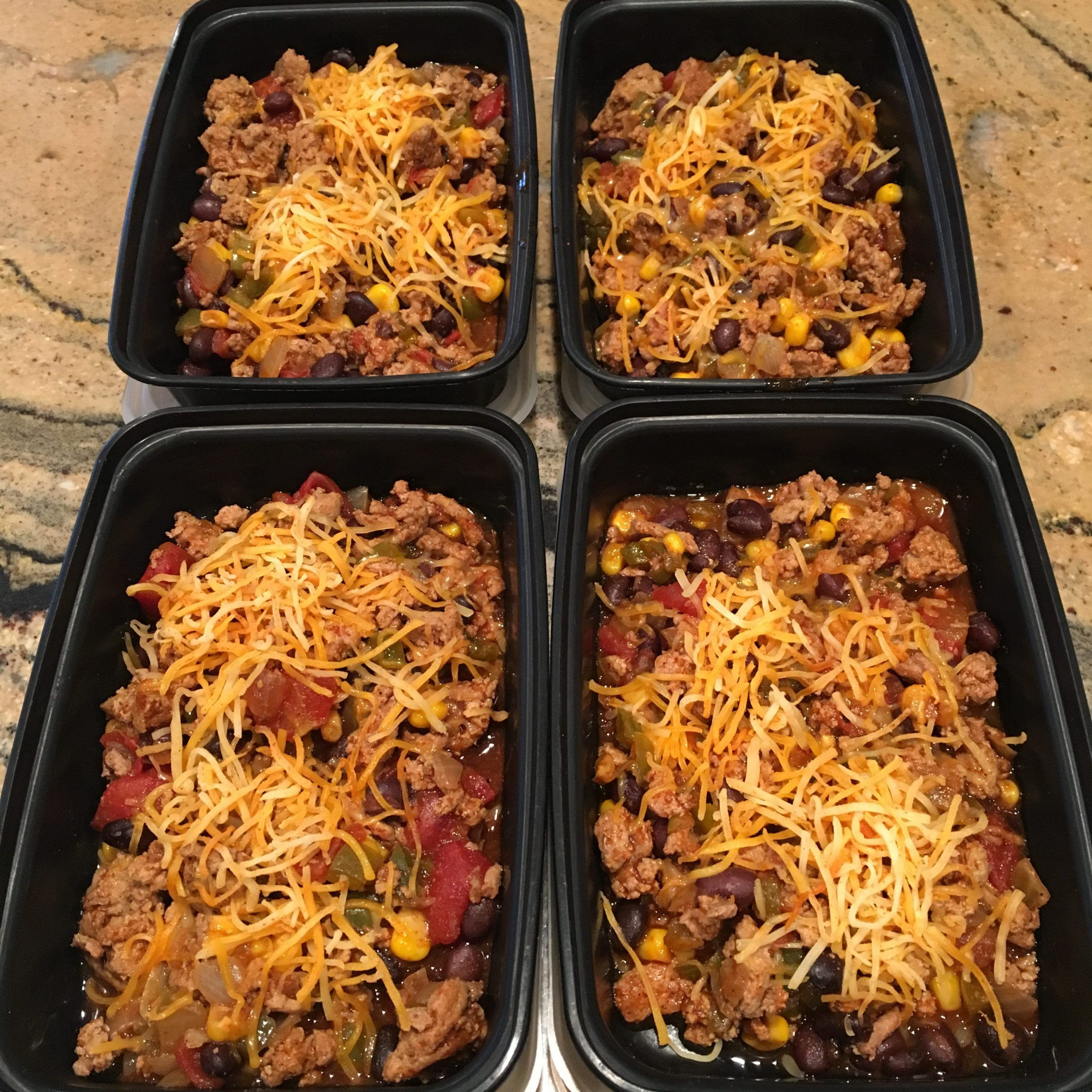 Crockpot Ground Turkey Enchilada Casserole - Everyday Wellness