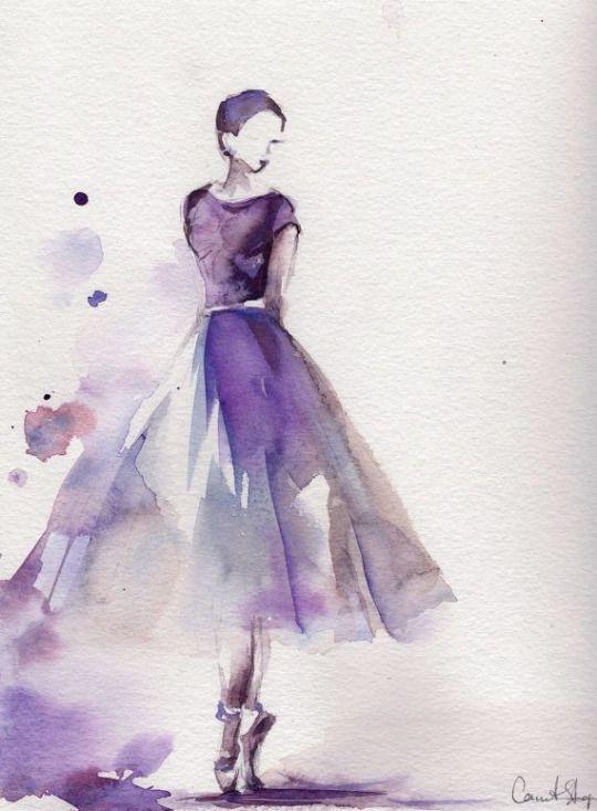 Fashion Illustration Bale Boyama Balerin Boyama Ve Ilham Veren Sanat