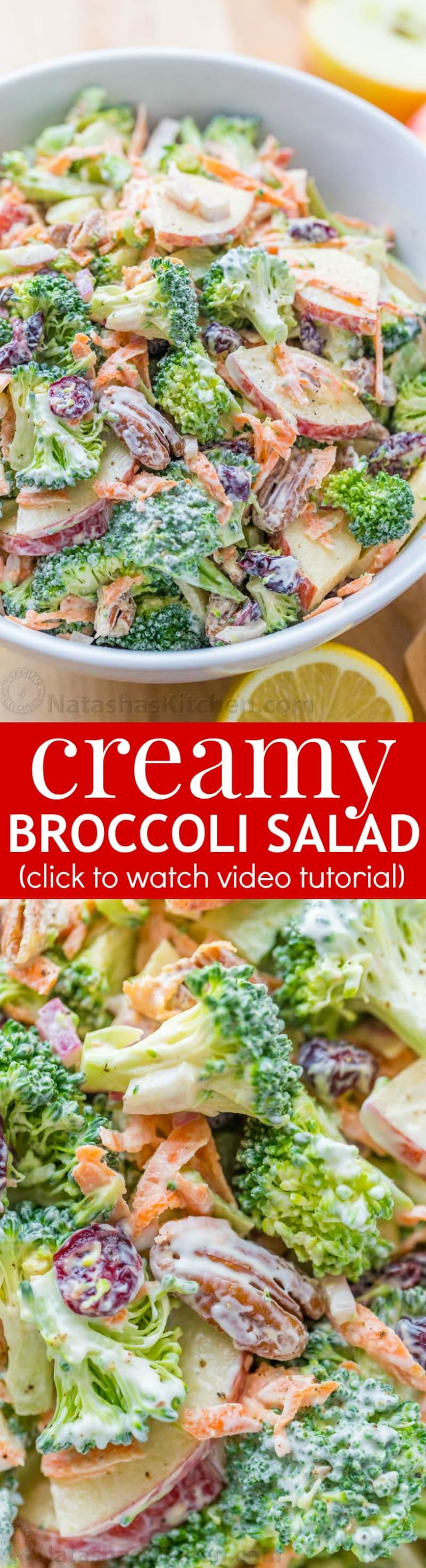 Broccoli Salad Recipe Natasha's Kitchen