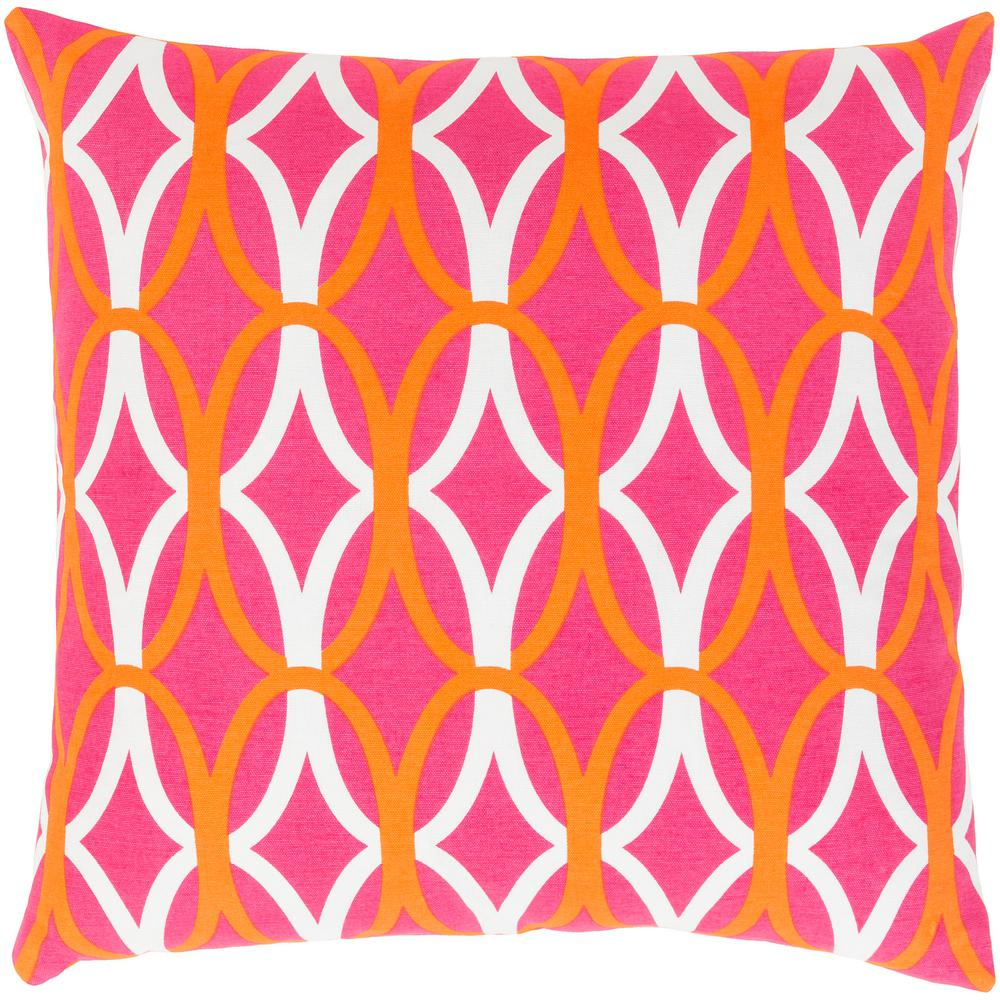 Baer poly euro pillow orange products