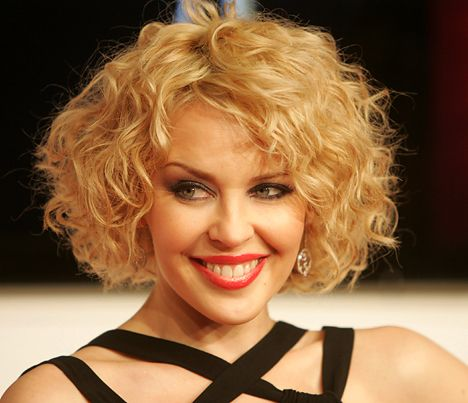 Short Curly Bob Hairstyles Fair Kylie Curly Bob Hairstyle #hairdesign  See More Hair Design At