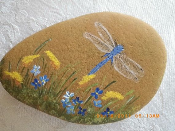 This happy little Dragonfly is ready for spring!