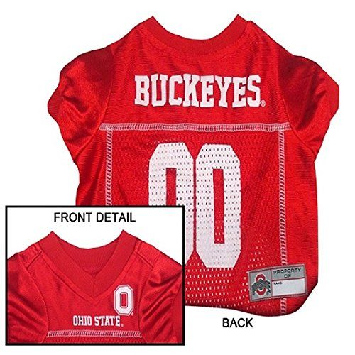 Pets First Collegiate Ohio State Buckeyes Dog Mesh Jersey Large -- For more  information fe680d05c