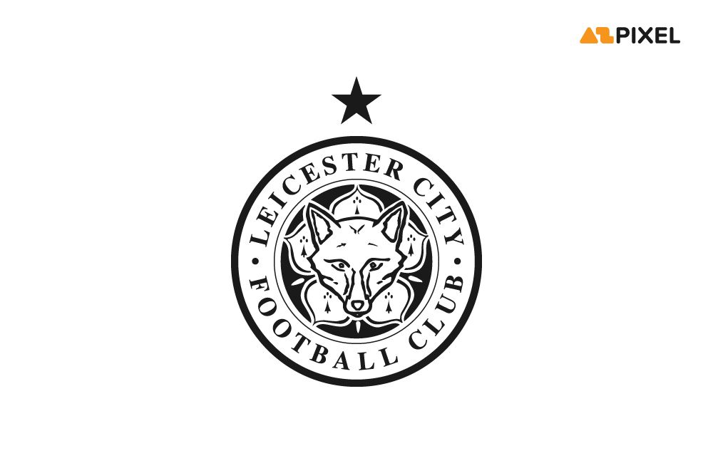 Leicester City (Black and White) Logo Vector (.Ai) Free in ...