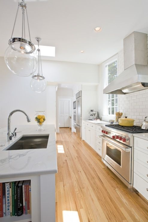 White Kitchen Open Concept love the floors and the white cabinets wentworth studio - kitchens
