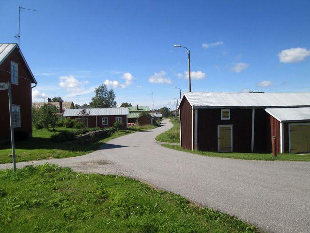 Björköbyn kylä. Mustasaari. Ostrobothnia province of Western Finland.- Pohjanmaa - Österbotten  (Kuva:Jari Laurila:2015)