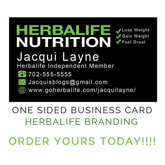 This herbalife business card design will show customers your these business cards are compatible with vistaprint trending etsy etsyshop herbalife herbalife24 branding reheart Gallery