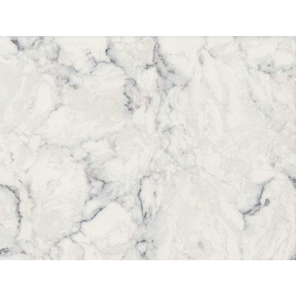 Lg Hausys Viatera 3 In X 3 In Quartz Countertop Sample In Rococo