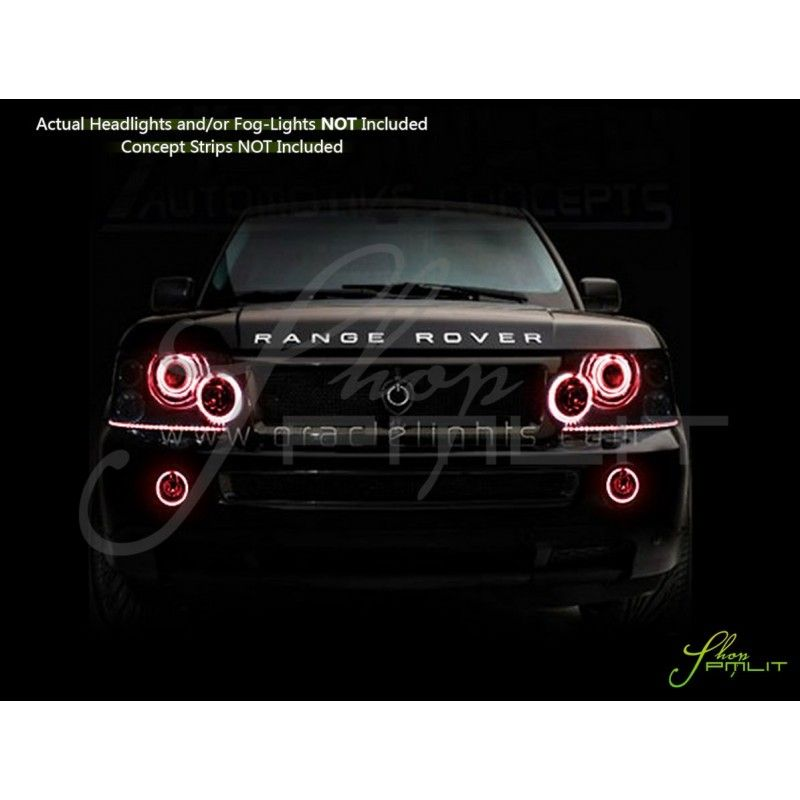 Oracle 06 09 Land Range Rover Sport Led Halo Rings Headlights Bulbs Range Rover Range Rover Sport Range Rover Accessories