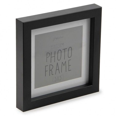 novara black wooden frame 5x5 art pinterest