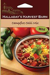 Halladay's Campfire & Firehouse Chili Mixes