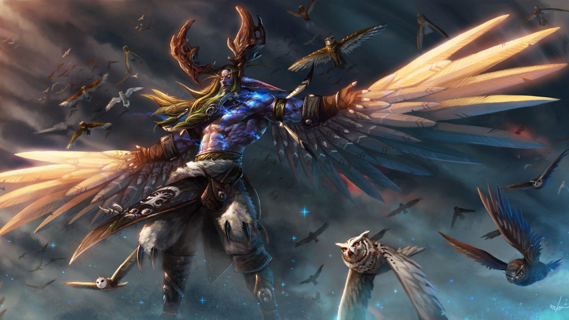 Malfurion Stormrage World of Warcraft video games