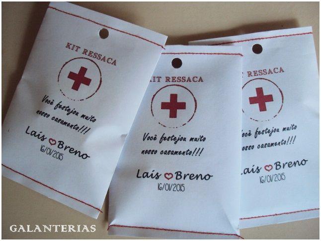 Envelope Kit Ressaca Personalizado www.facebook.com/Galanterias