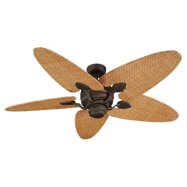 rattan ceiling fans: some british colonial flair | tropical