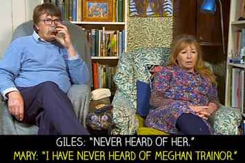 """14 Times Giles And Mary Were Boring Yet Wonderful On """"Gogglebox"""