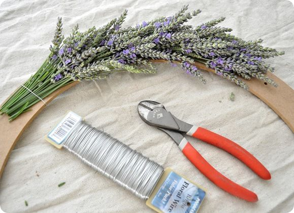 Centsational Girl » Blog Archive Simple Summer Lavender Wreath - Centsational Girl