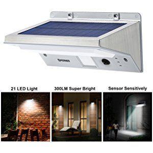 Bright Outdoor Solar Lights Solar Wall Lights Opernee 21 Led Bright Outdoor Solar Lights