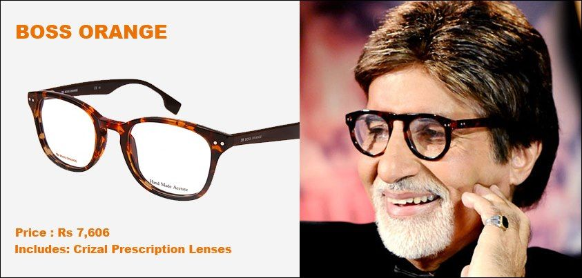 997e8dfcdfe Eyewear · Amitabh Bachchan looks great in his trendy and chic glasses! Get  the similar Big B