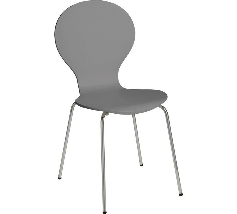 Home Bentwood Metal Dining Chair Jet Grey Cosy Kitchen In 2019