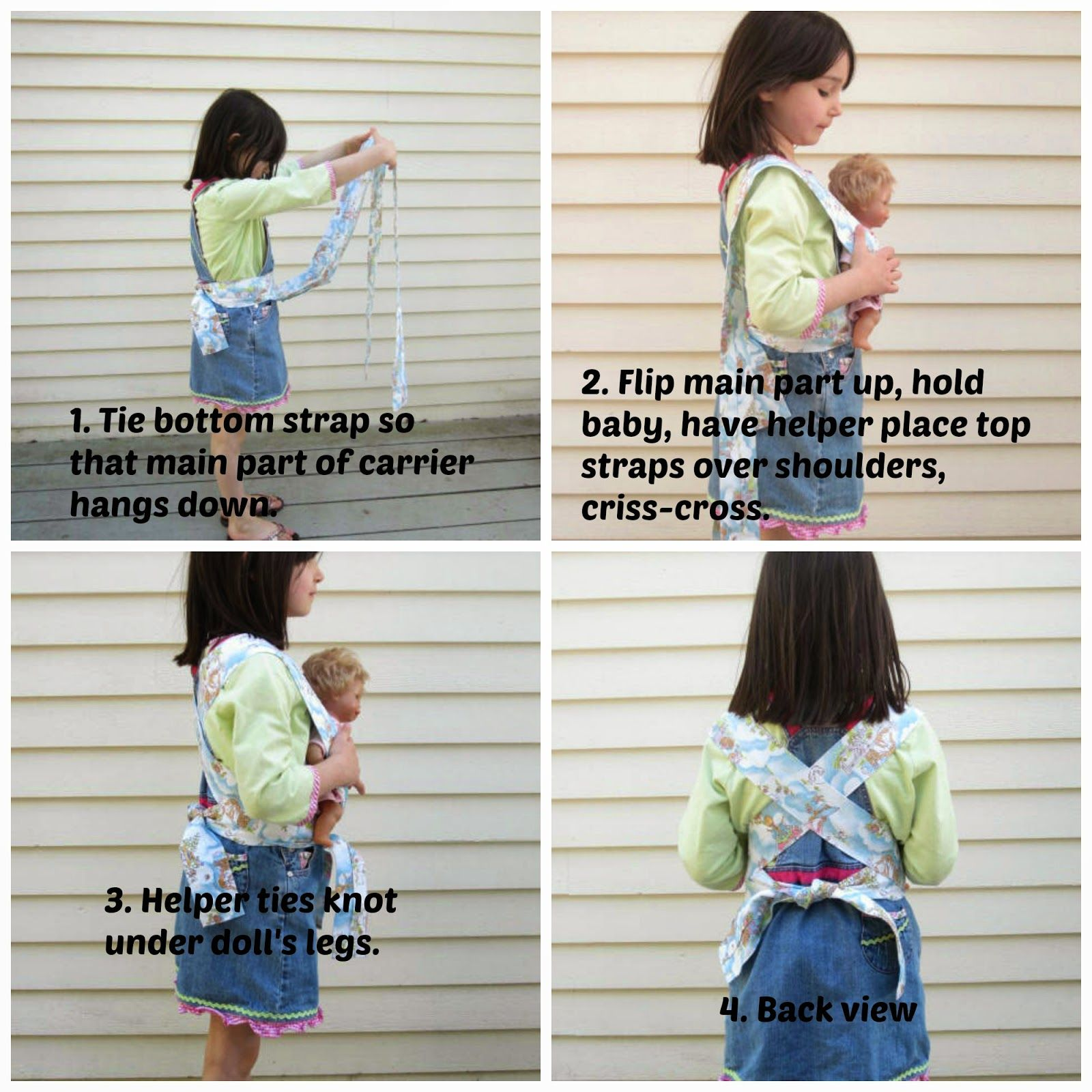 handmade dress haven: Baby Doll Mei Tai Carrier - free pattern and ...