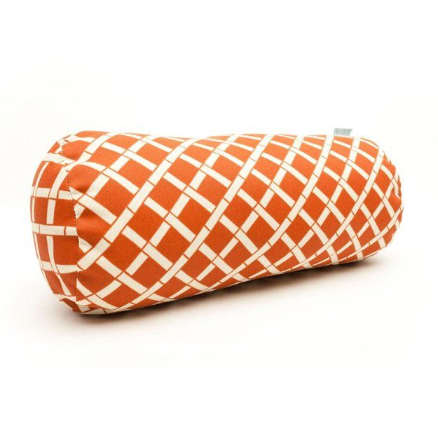 I'm learning all about Cam Consumer Products, Inc. Majestic Home Goods Burnt Orange Round Bolster Pillow at @Influenster!