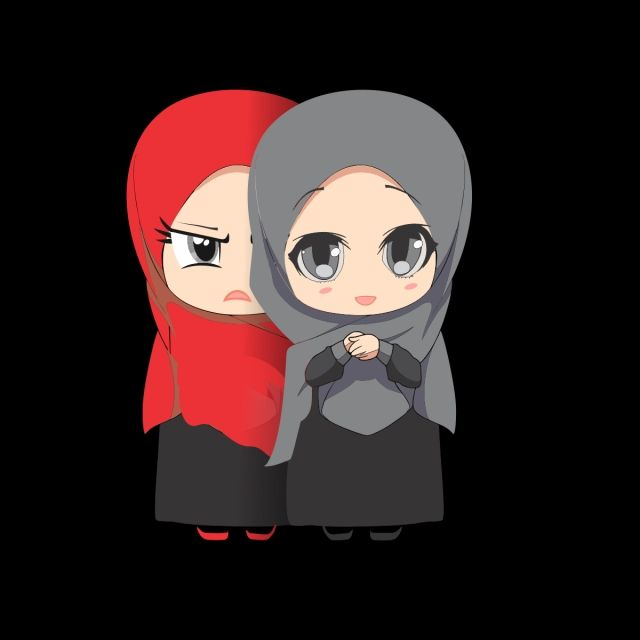 Muslim Cartoon Girl Islam Muslim Peace Png Transparent Image And Clipart For Free Download Friend Cartoon Best Friends Cartoon Cartoon Clip Art