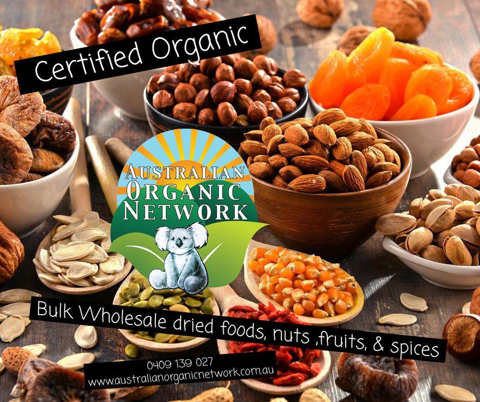 Australian organic network for certified organic dried