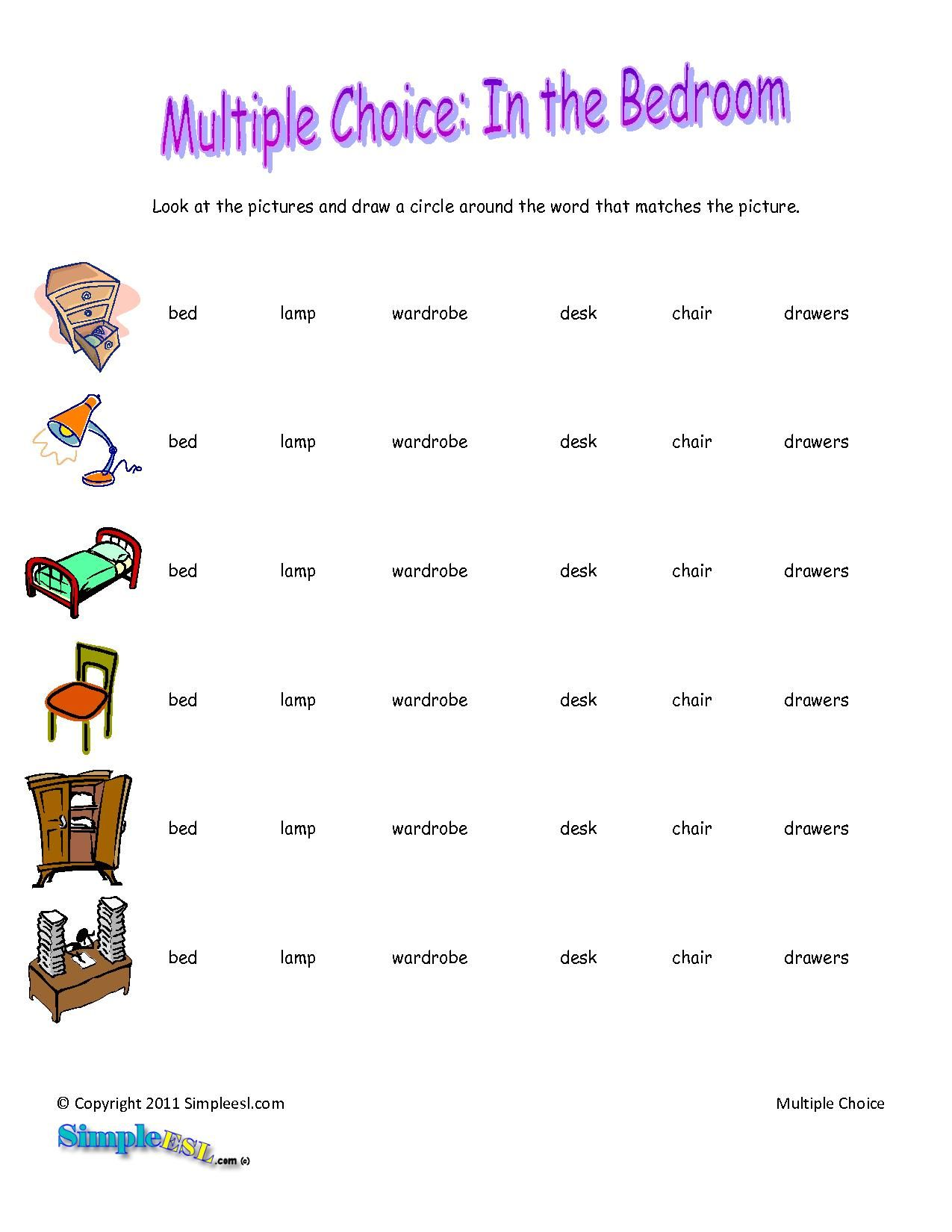 Basic English Worksheets