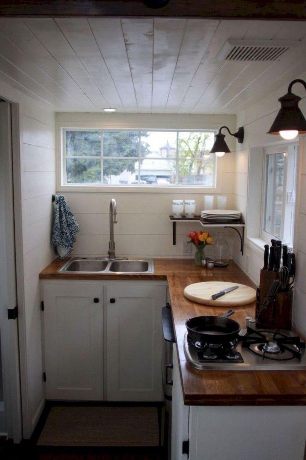 lovely kitchen storage ideas | 30+ Lovely Tiny House Kitchen Storage Ideas | casa ...