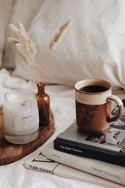 Pin by Atice Zulfi on Reading time | Coffee and books, Cozy aesthetic,  Candles photography
