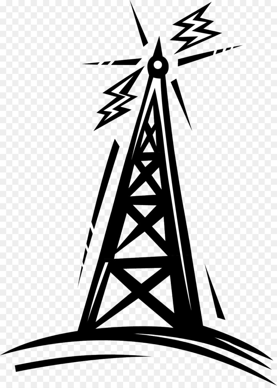 Telecommunications Tower Radio Cartoon Clip Art Radio Antenna Cliparts Png Is About Is About Silhouette Cartoon Clip Art Monochrome Photography Tower Climber