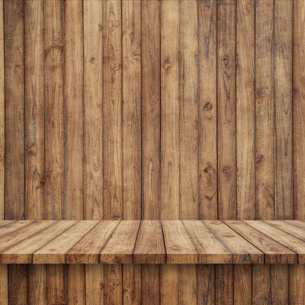 Wooden Floorboards With Wooden Wall Free Photo