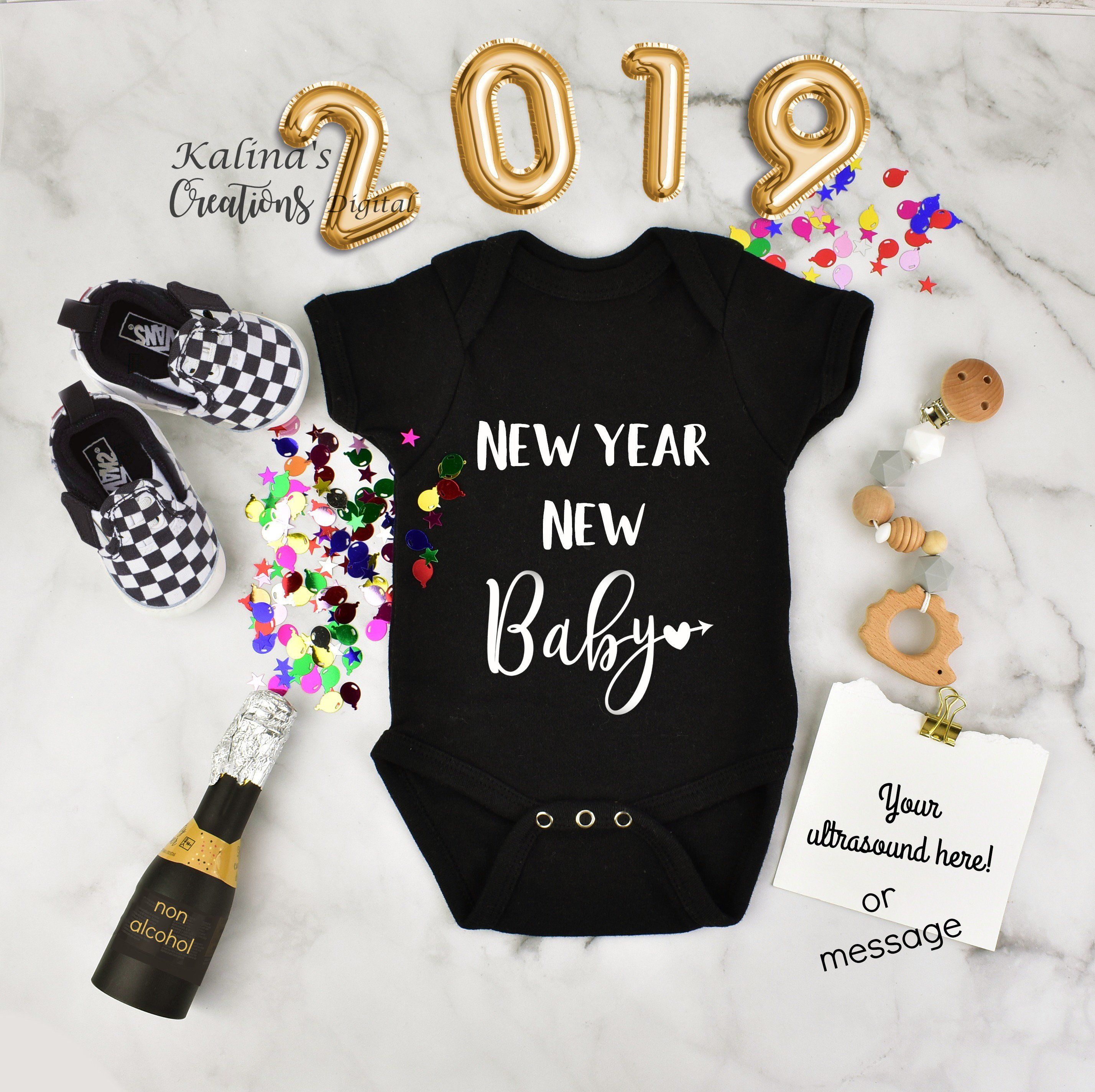 Pin On New Years Pregnancy Announcement