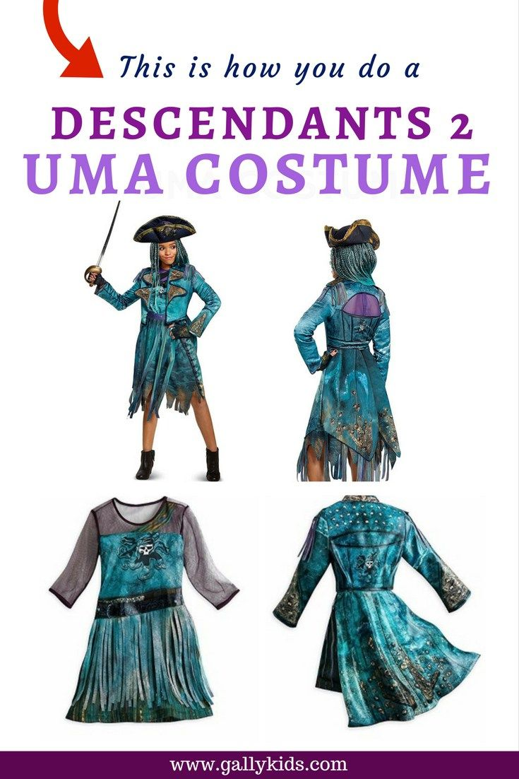 This is how you do a descendants 2 uma costume diy instructions uma costume ideas from the descendants 2 movie for when your teen or tween fancies dressing up as this lovable antagonist in the movie with a few diy solutioingenieria Image collections