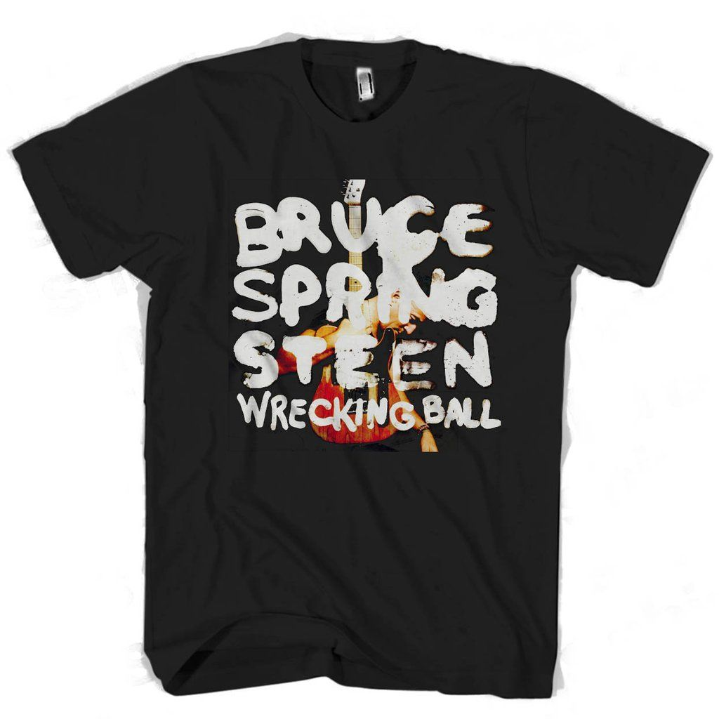 Bruce Springsteen logo Man's Tee T-Shirt