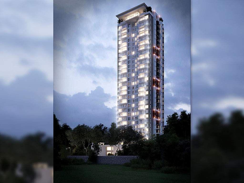 Honduras: Edificio más alto de Centroamérica estará en San Pedro Sula Residencial Igvanas Tara Eco Apartments, de 122.50 metros de altura, tiene una inversión de 17 millones de dólares Es un edificio que se construye en el sector noroeste de San Pedro Sula, en un área de 23,273.19 metros cuadrados a inmediaciones del parque Hacienda Tara, sobre el bulevar McKay de la ciudad.