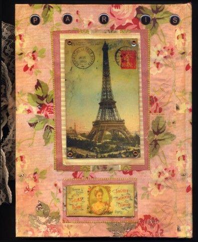 Paris Journal Back