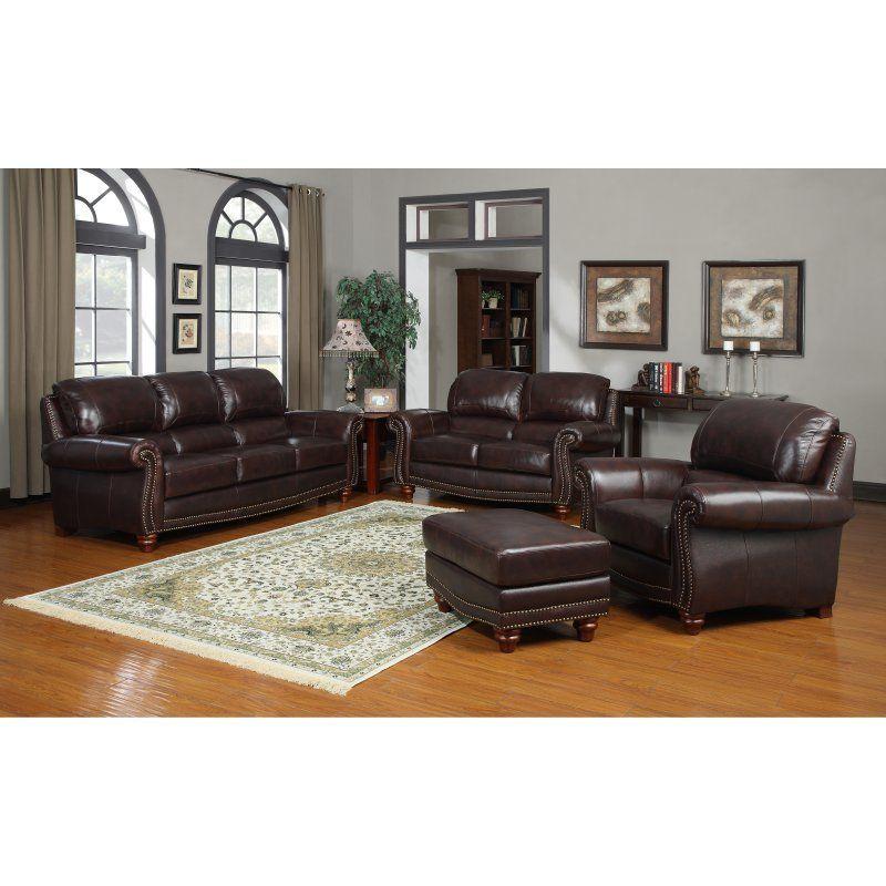 Oliver Pierce Carter Italian Leather Sofa 259000101 Living Room Sets Leather Living Room Set Living Room Leather