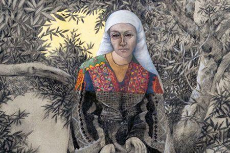 Art Under Occupation + Sliman Mansour | Art, Life art ...