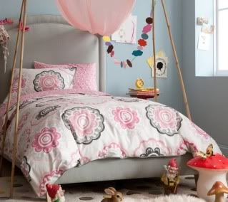 dwell zinnia twin bedding saw this on modern family tonight but i cant find it anywhere - Toddler Girl Bedding