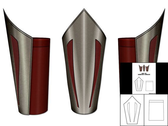Gauntlet Template   Template For Lady Sif Gauntlets Lady Sif Cosplay And Costumes