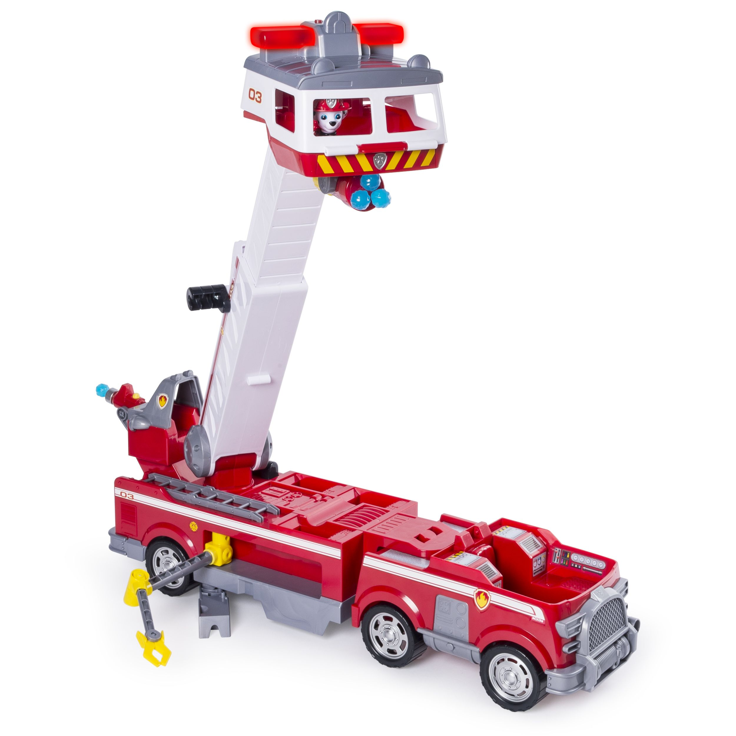 Age 3+ PAW Patrol Ultimate Rescue Fire Truck With Extendable 2 Ft Tall Ladder