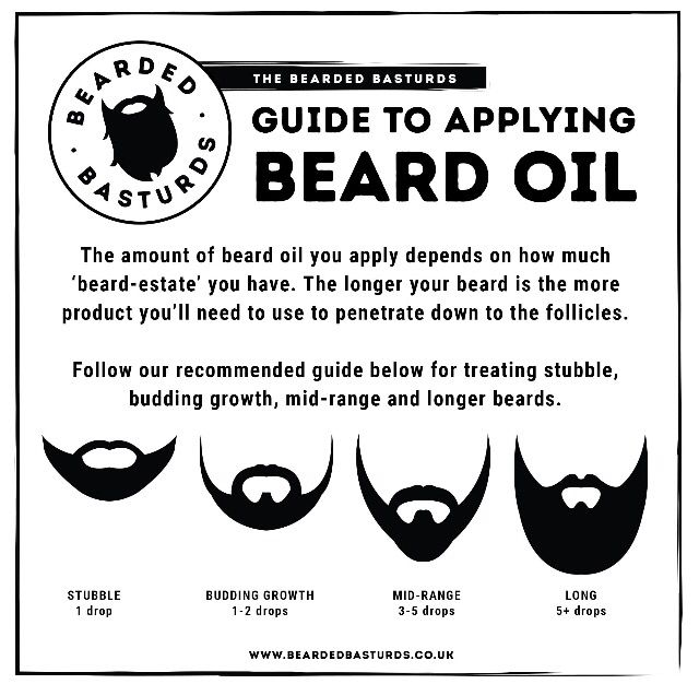 Beardedbasturds Guide To Applying Beard Oil The Amount Of Beard Oil You Apply Depends On How Much Beard Estate You Ha Beard Oil Bearded Men Hot How To Apply