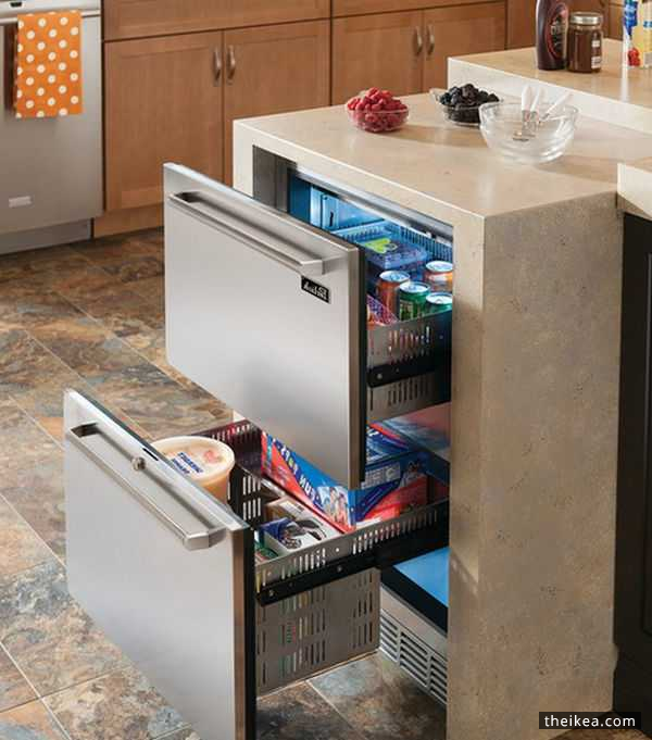 Modern Day Kitchens undercounter refrigerators – the new should-have in modern day
