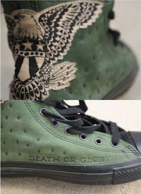 1c128c22b20a They are the first lot of Sailor Jerry Converse ever released limited .