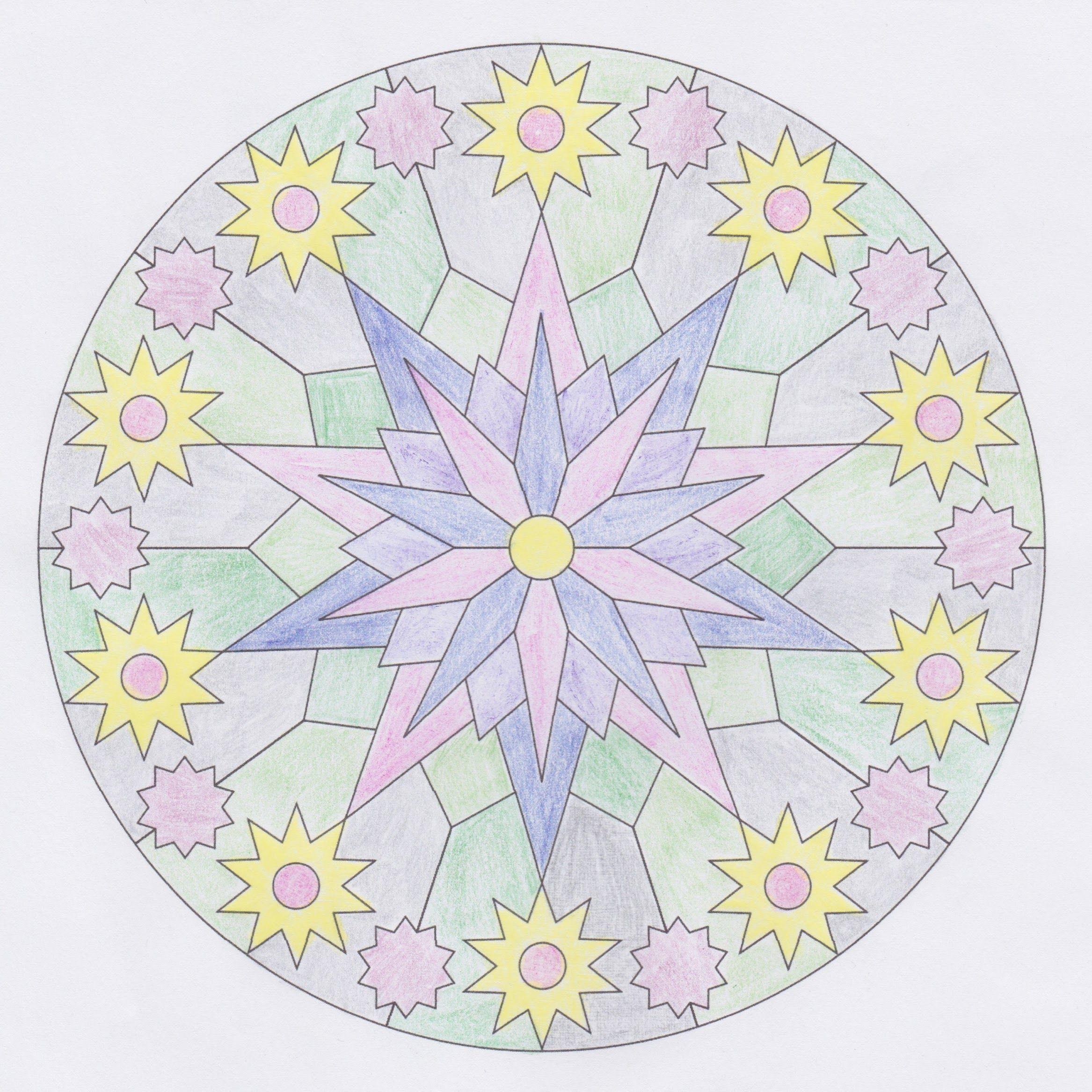 Für Mandala Ausmalvorlage dala ausmalbilder